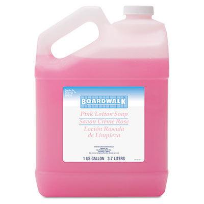 Boardwalk 174 Mild Cleansing Pink Lotion Soap Pleasant