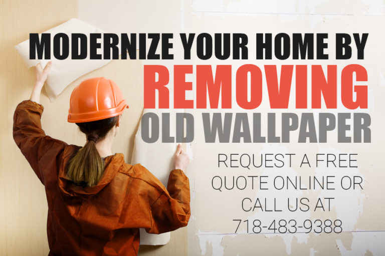 old wallpaper glue removal