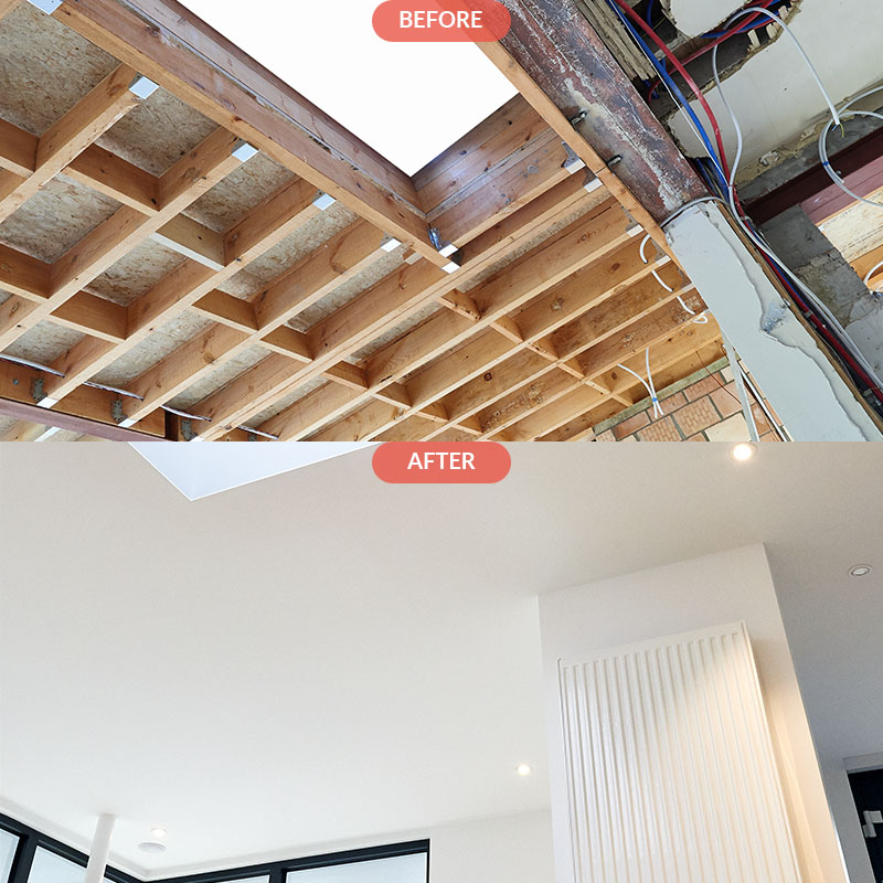 CEILING FRAMING AND REFINISHING: Brooklyn NYC2 -